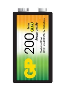 Аккумулятор  GP 20R8H Ni-Mh ( 200 mAh )