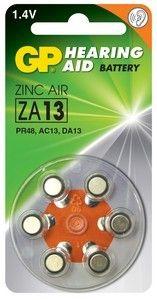 Эл. питания GP ZA13 (Blister)