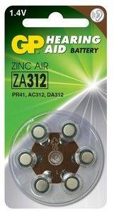 Эл. питания GP ZA312 (Blister)