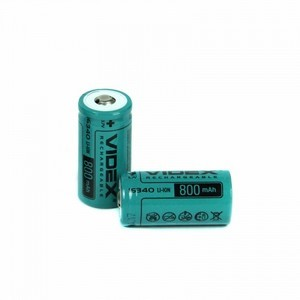 Li-ion 16340 VIDEX (3,7V 800mAh)