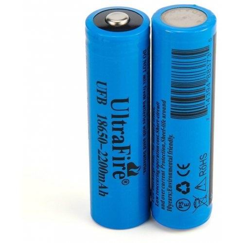 Li-ion 18650 Bailong Gold (3.7V 8800 mAh, реально 500mAh)