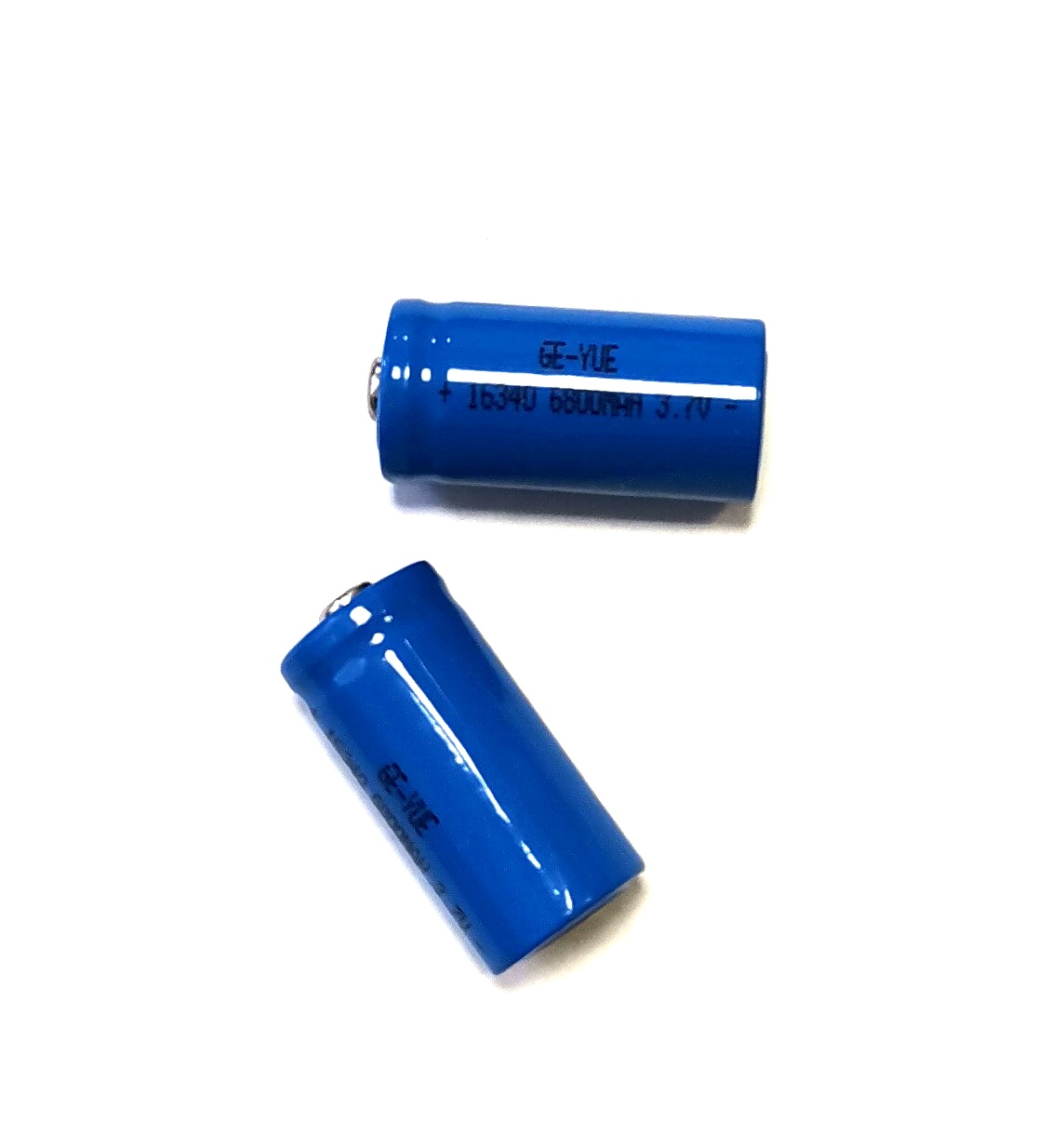 Li-ion 16340 ART CR123 (3.7V 1800mAh, реально 300mAh)