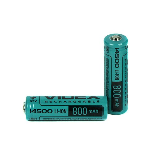 Li-ion 14500 VIDEX (3,7V 800mAh)