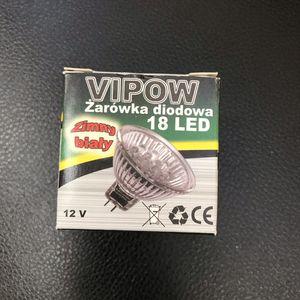 Лампа светодиодная VIPOW BA15d-CW/12-3G ZAR0017 (авто)