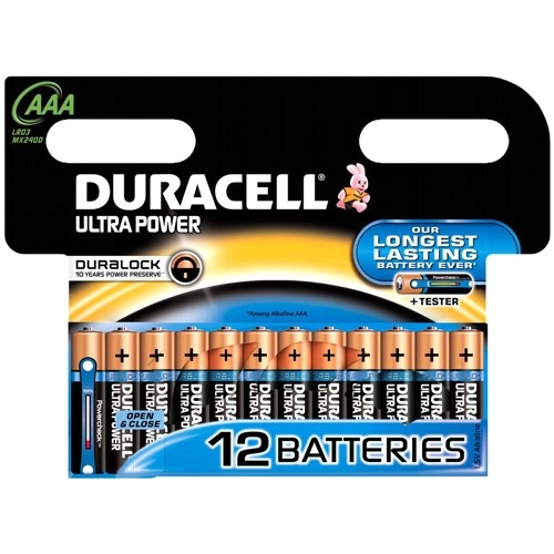 Эл. питания DURACELL LR03 Ultra Power (Blister 12 шт.)