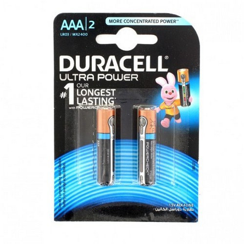 Эл. питания DURACELL LR03 Ultra Power (Blister  2 шт.)