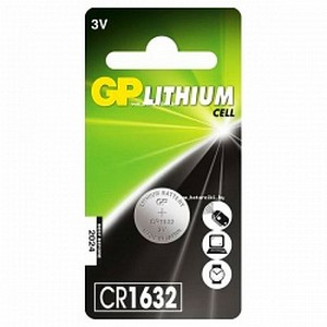 Эл. питания Lithium GP CR1632 BC1