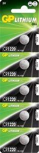 Эл. питания Lithium GP CR1220 (BC-5)