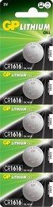 Эл. питания Lithium GP CR1616 (BC-5)