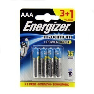 Эл. питания ENERGIZER LR03 MAXIMUM  (Blister)