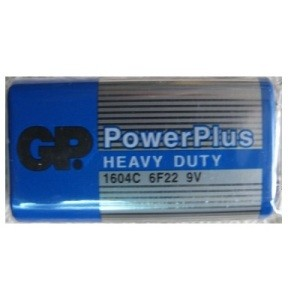 Эл. питания GP 6F22  PowerPlus (Tray) (1604C B)