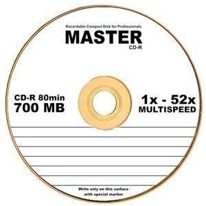 CD-R  S- 10 Bulk MASTER 700Mb