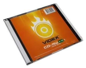 CD-RW  VIDEX 700Mb -12x Slim
