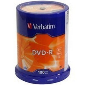 DVD-R  S-100 Box VERBATIM 4.7Gb -16x (Advanced AZO)
