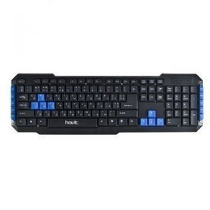 Клавиатура USB HAVIT HV-KB327  Black  (Mulimedia)