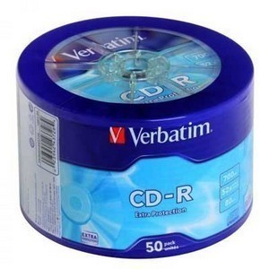 CD-R  S- 50 Bulk VERBATIM 700Mb  (Extra Protection)