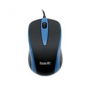 Мышка USB HAVIT HV-MS675  Black/Blue