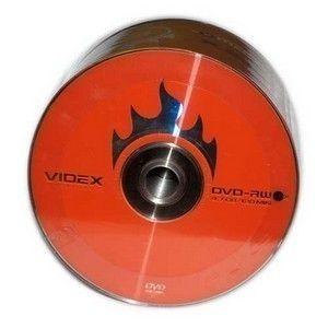 DVD-RW  S- 10 Bulk VIDEX 4.7Gb  -4x