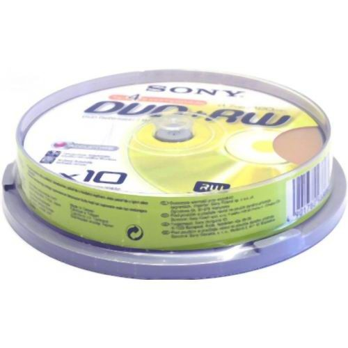 DVD-RW S- 10 Box Sony 4.7Gb -2х