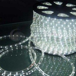 Лента LED дюралайт Cu 24LED (белый холодный)
