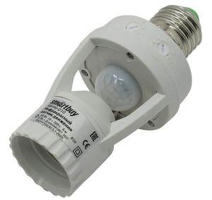Датчик движения инфракрасный в патрон E27, 60Вт, до 6м, IP44 (sbl-ms-010)