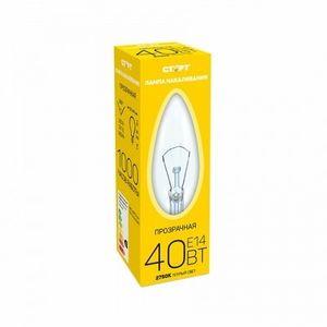 Лампа СТАРТ E14 40W ДС