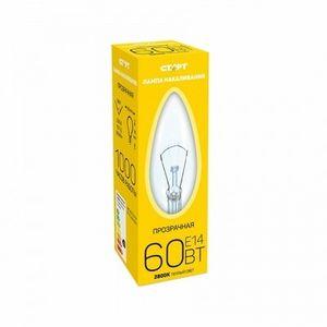 Лампа СТАРТ E14 60W ДС