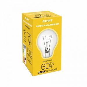 Лампа СТАРТ E14 60W ДШ