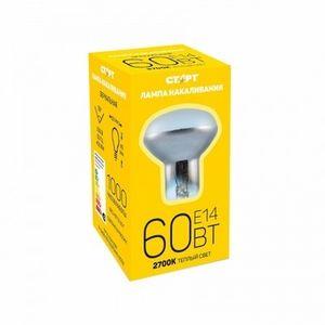 Лампа СТАРТ E14 60W R50