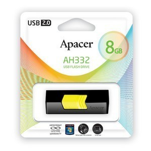 USB 2.0 Flash Drive  8Gb Apacer AH332