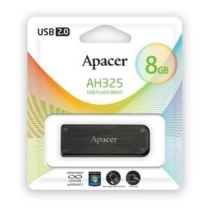 USB 2.0 Flash Drive  8Gb Apacer AH325