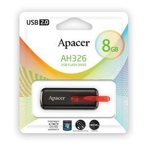 USB 2.0 Flash Drive  8Gb Apacer AH326