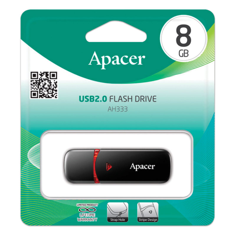 USB 2.0 Flash Drive 32Gb Apacer AH333