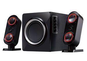 Аккустика 2.1 Defender М5  (4W+2х2W, MP3, FM)