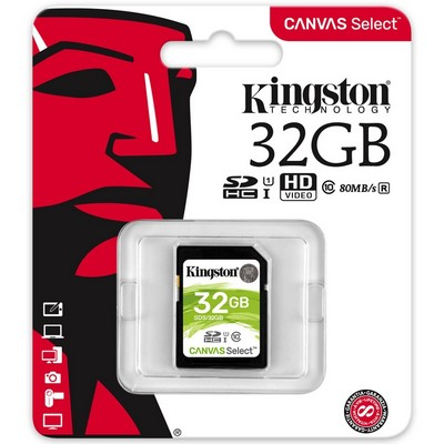 SD HC card 32Gb Kingston (Class 10) UHS-1