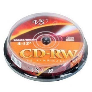 CD-RW  S- 10 Box VS 700Mb -12x