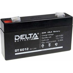 Купить Аккумулятор свинцовый DELTA DT- 6012 (6V 1,2Ah) в интернет магазине ЧАС с доставкой по Севастополю и Крыму. Приобрести Аккумулятор свинцовый DELTA DT- 6012 (6V 1,2Ah) по выгодной цене можно в одном из наших магазинов или сделав заказ на сайте.  Возможна доставка заказов любой ТК по всей территории России.