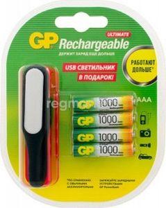 Купить Аккумулятор GP R03 Ni-Mh (1000 mAh) ПРОМО+USB (100AAAHC/USBLED-2CR4)  в интернет магазине ЧАС с доставкой по Севастополю и Крыму. Приобрести Аккумулятор GP R03 Ni-Mh (1000 mAh) ПРОМО+USB (100AAAHC/USBLED-2CR4)  по выгодной цене можно в одном из наших магазинов или сделав заказ на сайте.  Возможна доставка заказов любой ТК по всей территории России.
