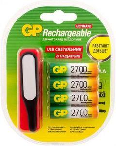 Купить Аккумулятор GP R6 Ni-Mh (2700 mAh) ПРОМО+USB (270AAHC/USBLED-2CR4) в интернет магазине ЧАС с доставкой по Севастополю и Крыму. Приобрести Аккумулятор GP R6 Ni-Mh (2700 mAh) ПРОМО+USB (270AAHC/USBLED-2CR4) по выгодной цене можно в одном из наших магазинов или сделав заказ на сайте.  Возможна доставка заказов любой ТК по всей территории России.