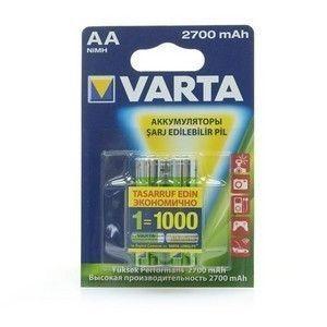 Купить Аккумулятор VARTA R6 Ni-Mh 2700 mAh  5706  в интернет магазине ЧАС с доставкой по Севастополю и Крыму. Приобрести Аккумулятор VARTA R6 Ni-Mh 2700 mAh  5706  по выгодной цене можно в одном из наших магазинов или сделав заказ на сайте.  Возможна доставка заказов любой ТК по всей территории России.