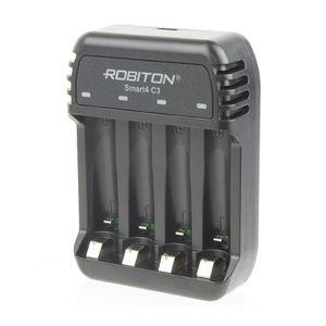 Купить ЗУ ROBITON Smart4 C3 (4 канала AA/AAA, Ni-Zn (1.6V), Ni-Mh и Ni-Cd, автомат) в интернет магазине ЧАС с доставкой по Севастополю и Крыму. Приобрести ЗУ ROBITON Smart4 C3 (4 канала AA/AAA, Ni-Zn (1.6V), Ni-Mh и Ni-Cd, автомат) по выгодной цене можно в одном из наших магазинов или сделав заказ на сайте.  Возможна доставка заказов любой ТК по всей территории России.