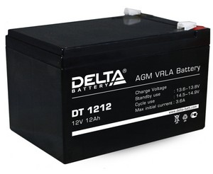 Купить Аккумулятор свинцовый DELTA DT-1212 (12V 12Ah)  в интернет магазине ЧАС с доставкой по Севастополю и Крыму. Приобрести Аккумулятор свинцовый DELTA DT-1212 (12V 12Ah)  по выгодной цене можно в одном из наших магазинов или сделав заказ на сайте.  Возможна доставка заказов любой ТК по всей территории России.