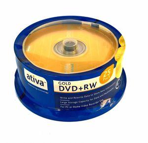 Купить DVD+RW  S- 25 Box  ATIVA Gold 4.7Gb  -4x в интернет магазине ЧАС с доставкой по Севастополю и Крыму. Приобрести DVD+RW  S- 25 Box  ATIVA Gold 4.7Gb  -4x по выгодной цене можно в одном из наших магазинов или сделав заказ на сайте.  Возможна доставка заказов любой ТК по всей территории России.