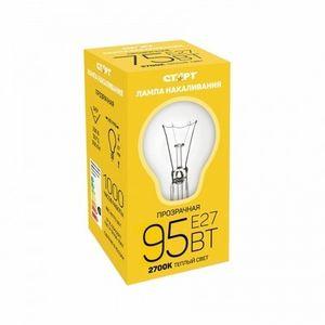 Купить Лампа СТАРТ E27 95Вт Б  в интернет магазине ЧАС с доставкой по Севастополю и Крыму. Приобрести Лампа СТАРТ E27 95Вт Б  по выгодной цене можно в одном из наших магазинов или сделав заказ на сайте.  Возможна доставка заказов любой ТК по всей территории России.