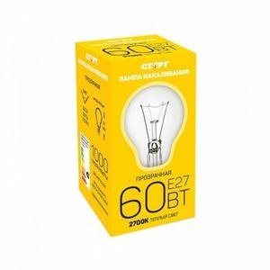 Купить Лампа СТАРТ E27 60Вт Б  в интернет магазине ЧАС с доставкой по Севастополю и Крыму. Приобрести Лампа СТАРТ E27 60Вт Б  по выгодной цене можно в одном из наших магазинов или сделав заказ на сайте.  Возможна доставка заказов любой ТК по всей территории России.