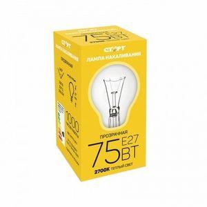 Купить Лампа СТАРТ E27 75Вт Б  в интернет магазине ЧАС с доставкой по Севастополю и Крыму. Приобрести Лампа СТАРТ E27 75Вт Б  по выгодной цене можно в одном из наших магазинов или сделав заказ на сайте.  Возможна доставка заказов любой ТК по всей территории России.