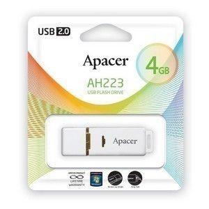 Купить USB 2.0 Flash Drive  4Gb Apacer AH223  в интернет магазине ЧАС с доставкой по Севастополю и Крыму. Приобрести USB 2.0 Flash Drive  4Gb Apacer AH223  по выгодной цене можно в одном из наших магазинов или сделав заказ на сайте.  Возможна доставка заказов любой ТК по всей территории России.
