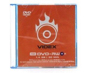 Купить DVD-RW  VIDEX 4.7Gb  Slim в интернет магазине ЧАС с доставкой по Севастополю и Крыму. Приобрести DVD-RW  VIDEX 4.7Gb  Slim по выгодной цене можно в одном из наших магазинов или сделав заказ на сайте.  Возможна доставка заказов любой ТК по всей территории России.