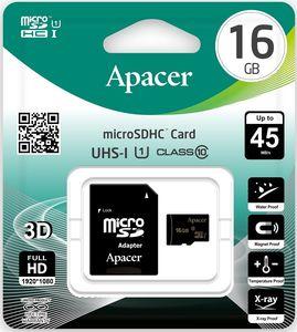 Купить Micro SD HC card  16Gb Apacer (Class 10, + переходник SD)  UHS-1 Up to 30 Mb/s в интернет магазине ЧАС с доставкой по Севастополю и Крыму. Приобрести Micro SD HC card  16Gb Apacer (Class 10, + переходник SD)  UHS-1 Up to 30 Mb/s по выгодной цене можно в одном из наших магазинов или сделав заказ на сайте.  Возможна доставка заказов любой ТК по всей территории России.