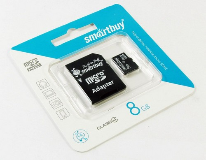 Купить Micro SD HC card  8Gb Smartbuy (Class 4 + переходник SD) в интернет магазине ЧАС с доставкой по Севастополю и Крыму. Приобрести Micro SD HC card  8Gb Smartbuy (Class 4 + переходник SD) по выгодной цене можно в одном из наших магазинов или сделав заказ на сайте.  Возможна доставка заказов любой ТК по всей территории России.